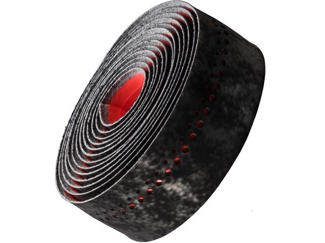 Bontrager Velvetack Styrbånd, black/viper red